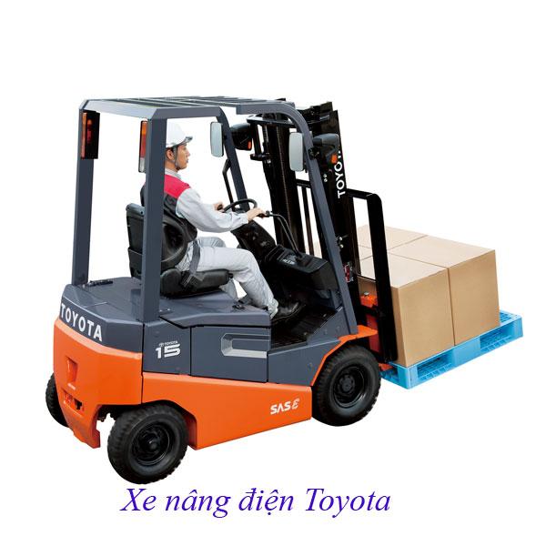 Xe Nâng điện Toyota, Xe Nâng điện Toyota Cũ Nhập Khẩu