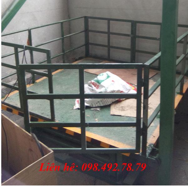 Bàn Nâng điện Thủy Lực Model SJG 3tấn Nhập Khẩu
