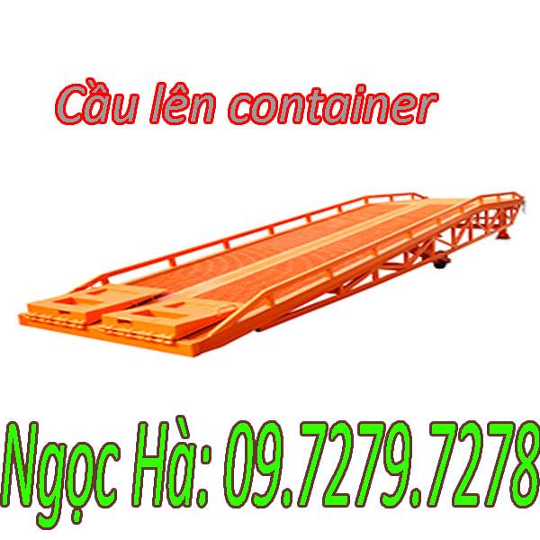 Cầu Lên Container DCQY Nhập Khẩu Giá Khuyến Mãi Sốc