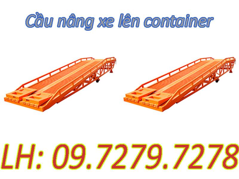 Cầu lên container DCQY nhập khẩu