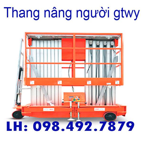 Thang Nâng Người 200kg 250kg 300kg Nâng Cao Nhất 12mét
