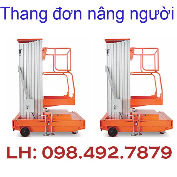 Thang Nâng Người Thang đơn Gtwy Nâng Cao 6m 8m 10m