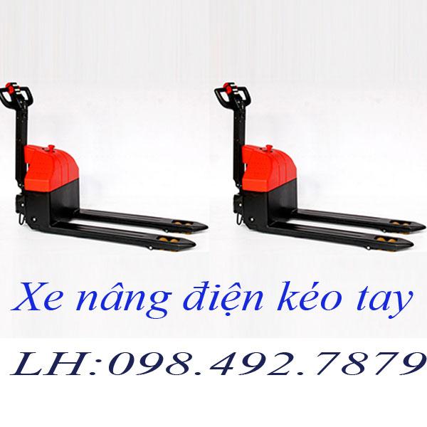 Xe nâng điện kéo tay nhập khẩu chất lượng