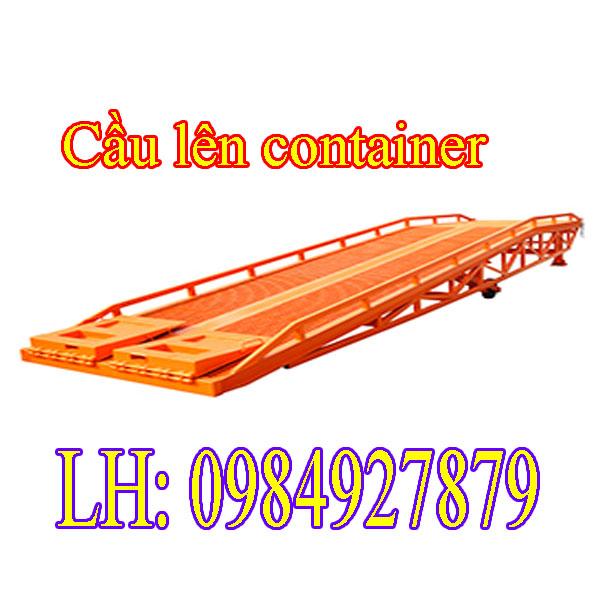 Cầu Dẫn Hàng Lên Container 6tấn 8tấn 10tấn Chất Lượng Cao