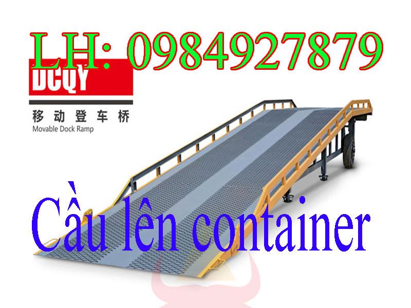 Cầu dẫn hàng lên container 6tấn 8tấn 10tấn