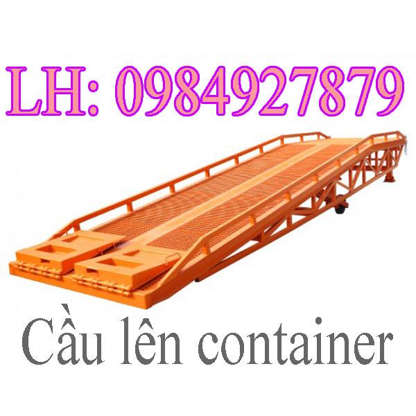 Cầu Dẫn Hàng Lên Container Mang Lại Hiệu Quả Kinh Tế