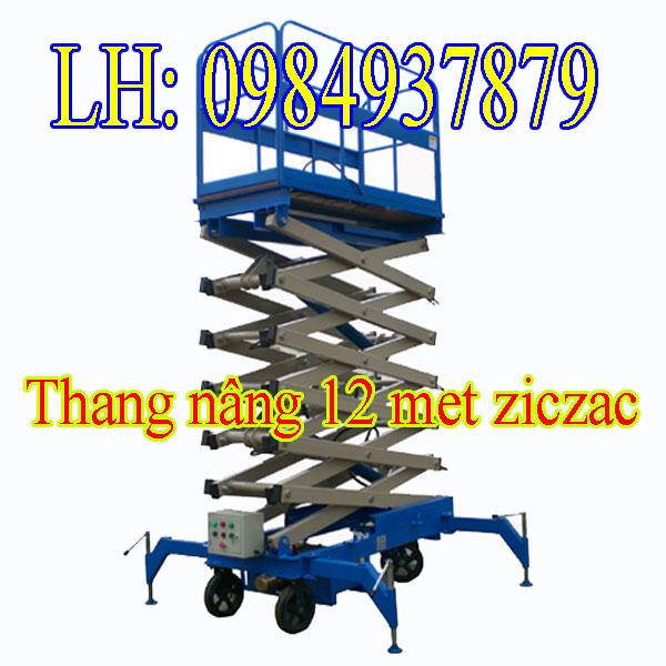 Thang Nâng Người Ziczac Máy Thi Công Công Trình Trên Cao