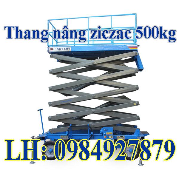 Thang Nâng Ziczac 500kg Nâng Cao 6met Chất Lượng Giá Tốt