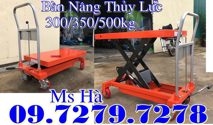 bàn nâng thủy lực 350kg 750kg 1000kg