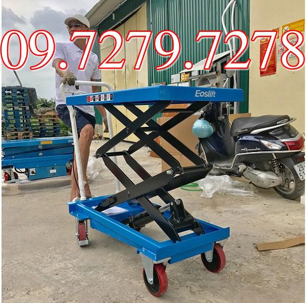 Xe Nâng Mặt Bàn 350kg Giá Rẻ Nhất Trên Toàn Quốc Hiện Nay