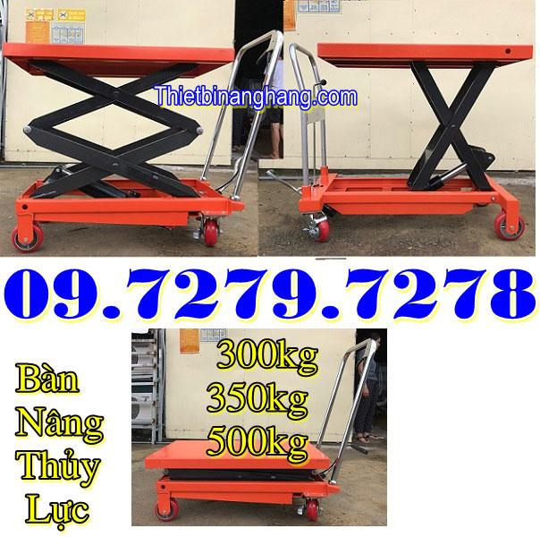 Bàn Nâng Thủy Lực 300kg 350kg 500kg