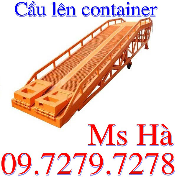 Cầu Lên Container Chất Lượng điểm 10 Bán Giá Tốt Nhất