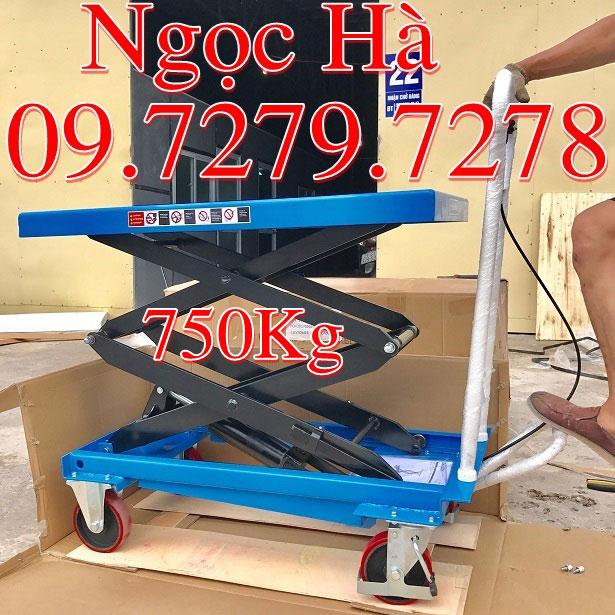 Ban nang thuy luc 750kg