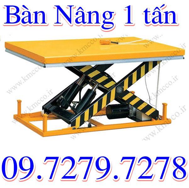 bàn nâng 1 tấn
