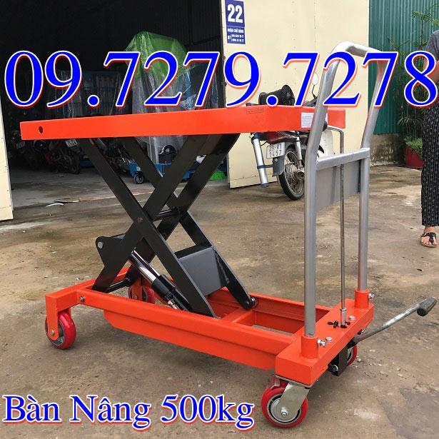 Ban nang thuy luc 500kg