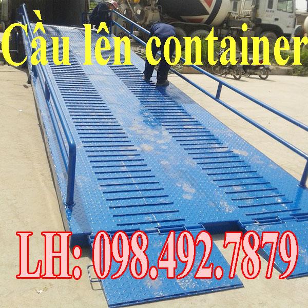 Cầu Dẫn Lên Container Sản Xuất Tại Việt Nam Giá Tốt
