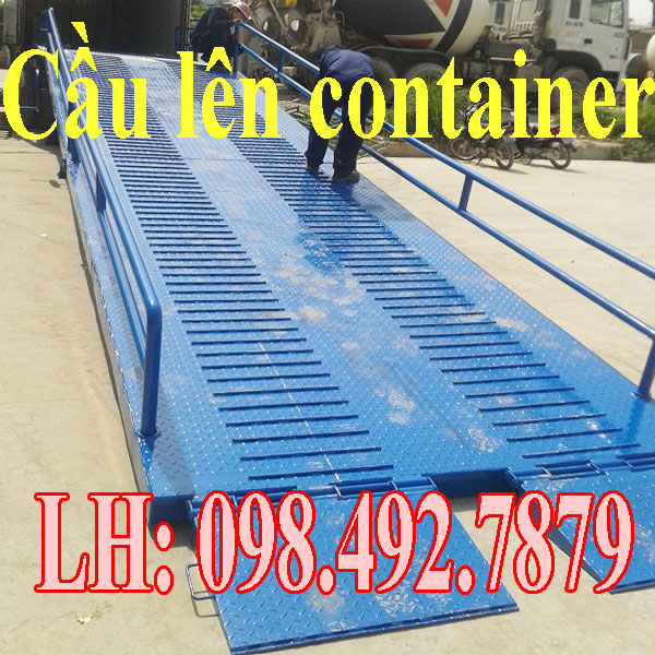 Cầu Lên Container Giúp Quá Trình đóng Hàng Nhanh Chóng