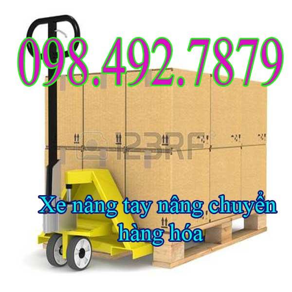 Xe Nâng Tay Thấp 3tấn Kéo Hàng Trên Container Hiệu Quả