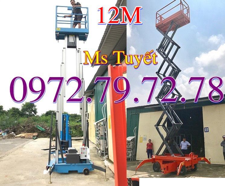 Thang nâng 12m tại Bắc Ninh