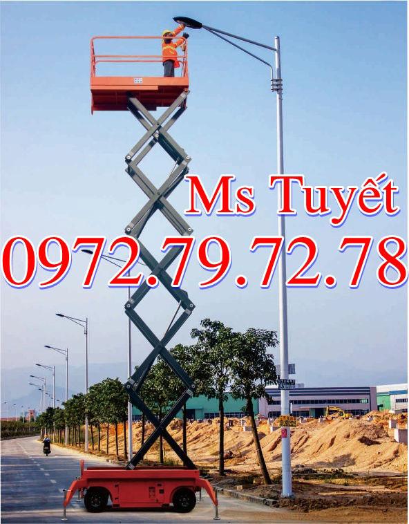 Thang nâng 12m tại Vĩnh Phúc