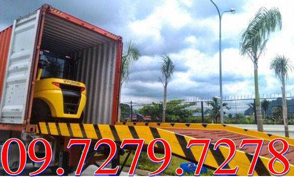 Cầu lên container 10 tấn