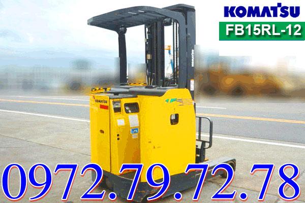 Xe nâng điện đứng lái 1 tấn Komatsu