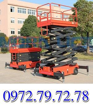 Cách bảo quản thang nâng người 9-12M