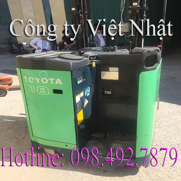 Giá Xe Nâng điện Cũ đứng Lái Toyota Tốt Nhất Việt Nam