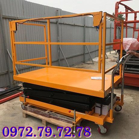 bàn nâng thuỷ lực điện 500kg