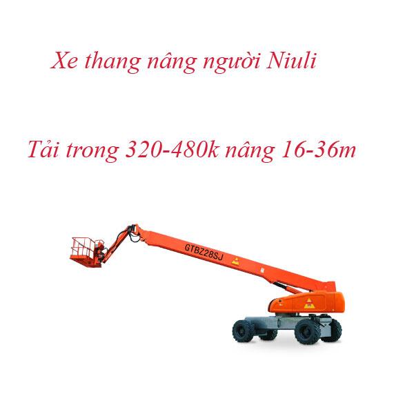 Xe Thang Nâng Người GTBZ 320kg-480kg Nâng Cao đến 36m