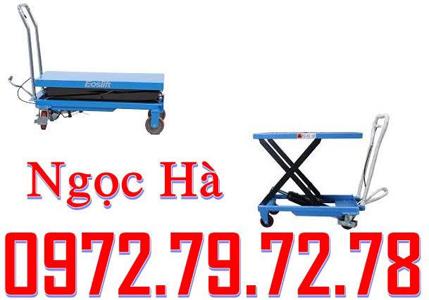 xe nâng mặt bàn 750kg