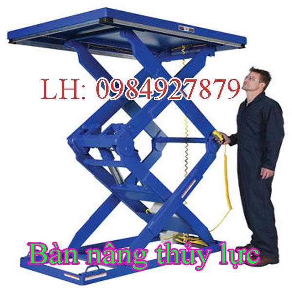 Thiết kế bàn nâng thủy lực