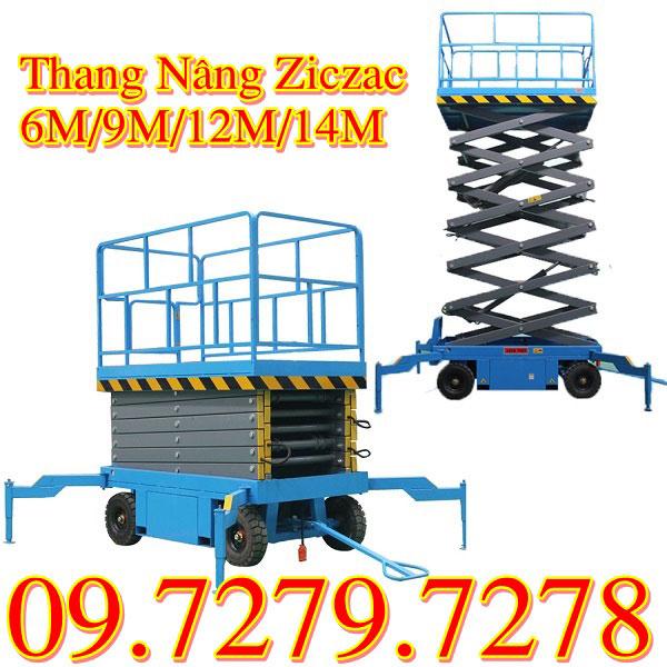 Thang Nâng Ziczac 6m 9m 12m 14m Có đặc điểm Gì Nổi Bật?