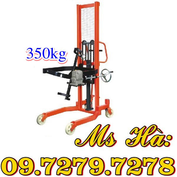 Xe Nâng Kẹp Phuy 350kg Nhập Khẩu Chất Lượng Bán Giá Cực Rẻ.