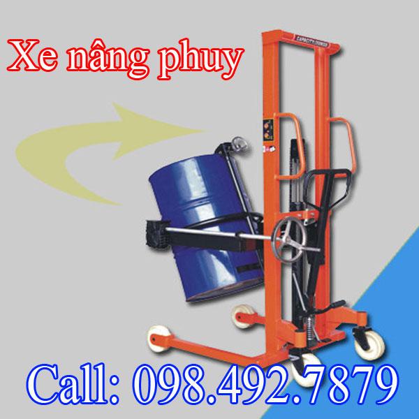 Bán Xe Nâng Thùng Phuy Online