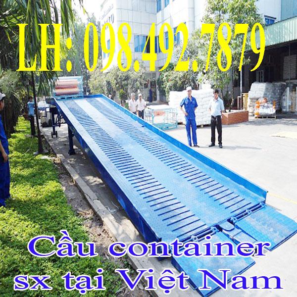 Cầu Dẫn Hàng Lên Container