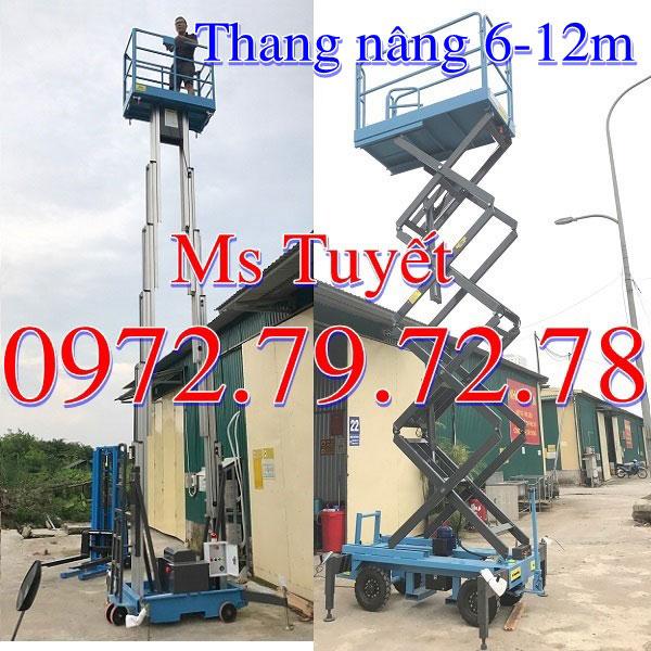 Bán Thang Nâng Người 6M 9M 12M Nhập Khẩu Giá Tốt Nhất