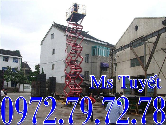 Thang nâng người 3m 6m 9m 12m 14m
