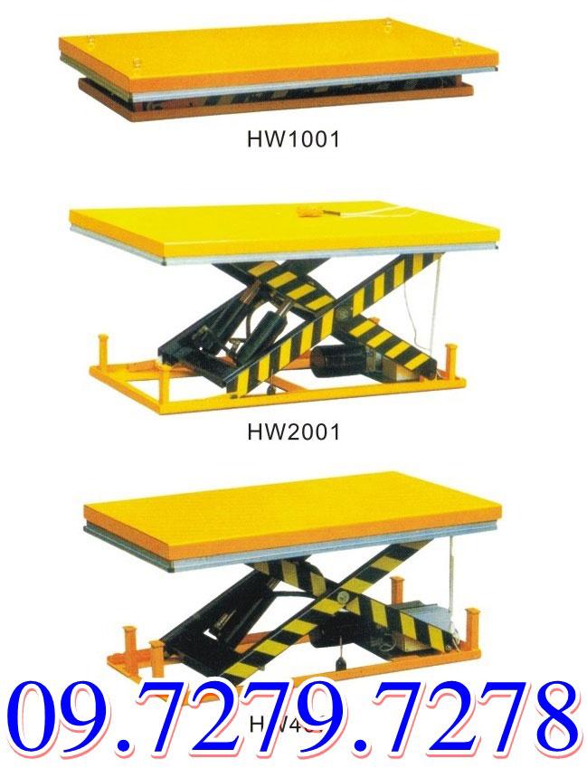 Giá bàn nâng điện hw1001